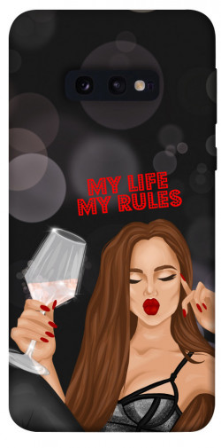 Чехол itsPrint My life my rules для Samsung Galaxy S10e