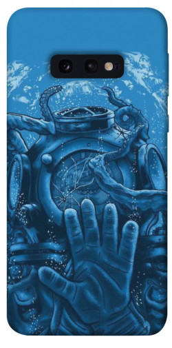 Чехол itsPrint Astronaut art для Samsung Galaxy S10e