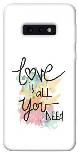 Чехол iPrint Love is all you need для Samsung Galaxy S10e