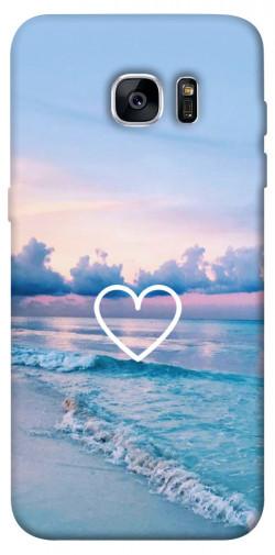 Чехол itsPrint Summer heart для Samsung G935F Galaxy S7 Edge
