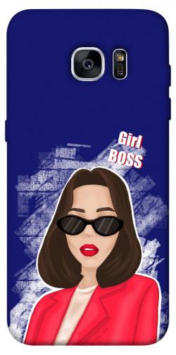 Чехол itsPrint Girl boss для Samsung G935F Galaxy S7 Edge