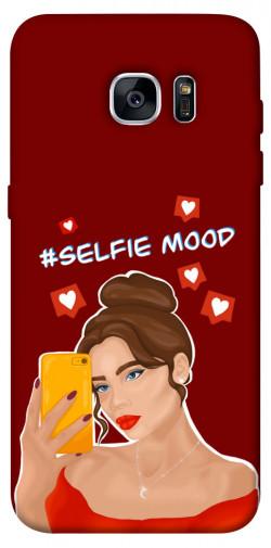 Чехол itsPrint Selfie mood для Samsung G935F Galaxy S7 Edge