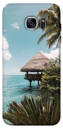 Чехол itsPrint Тропический остров для Samsung G935F Galaxy S7 Edge