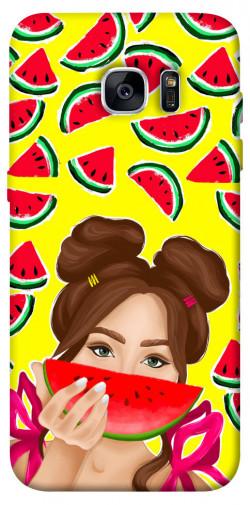 Чехол itsPrint Watermelon girl для Samsung G935F Galaxy S7 Edge