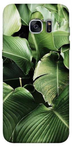 Чехол itsPrint Тропическая листва для Samsung G935F Galaxy S7 Edge