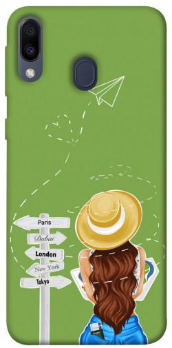 Чехол itsPrint Travel girl для Samsung Galaxy M20