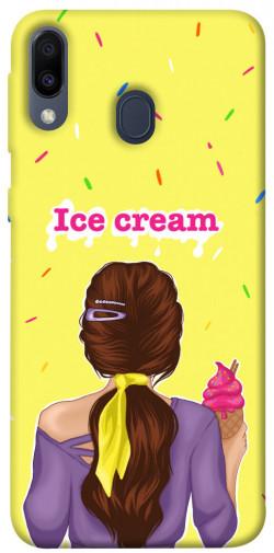 Чехол itsPrint Ice cream girl для Samsung Galaxy M20