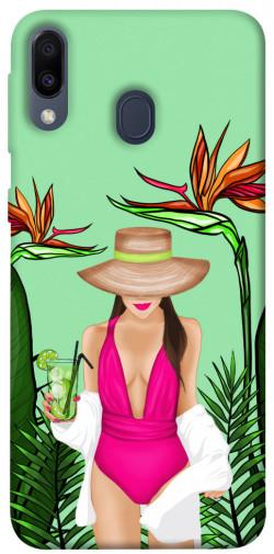 Чехол itsPrint Tropical girl для Samsung Galaxy M20