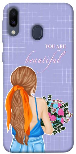 Чехол itsPrint You are beautiful для Samsung Galaxy M20