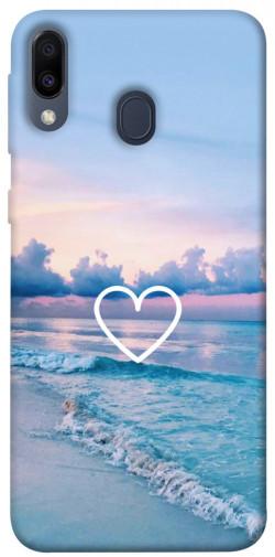 Чехол itsPrint Summer heart для Samsung Galaxy M20