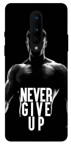 Чехол itsPrint Never give up для OnePlus 8