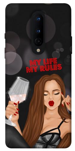 Чехол itsPrint My life my rules для OnePlus 8