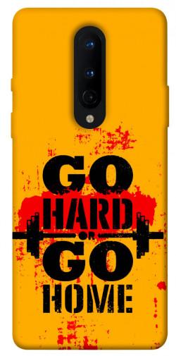 Чехол itsPrint Go hard для OnePlus 8