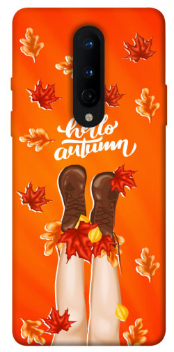 Чехол itsPrint Hello autumn для OnePlus 8