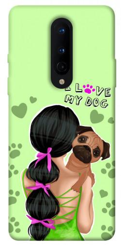 Чехол itsPrint Love my dog для OnePlus 8