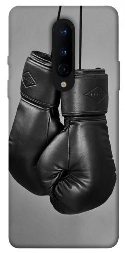 Чехол itsPrint Черные боксерские перчатки для OnePlus 8
