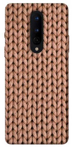 Чехол itsPrint Knitted texture для OnePlus 8