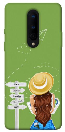 Чехол itsPrint Travel girl для OnePlus 8