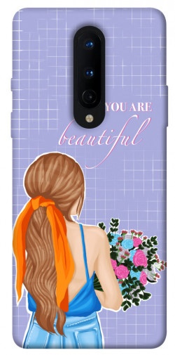 Чехол itsPrint You are beautiful для OnePlus 8