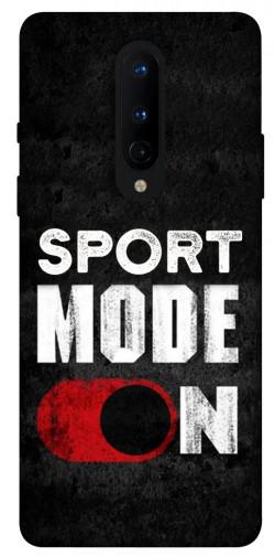 Чехол itsPrint Sport mode on для OnePlus 8