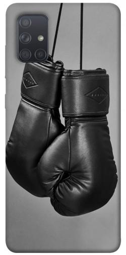 Чехол itsPrint Черные боксерские перчатки для Samsung Galaxy A71