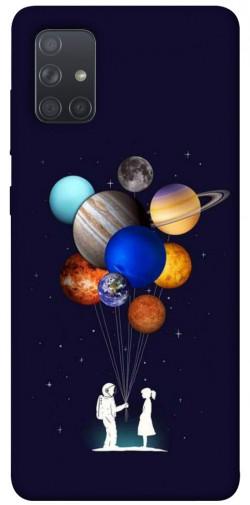Чехол iPrint Галактика для Samsung Galaxy A71