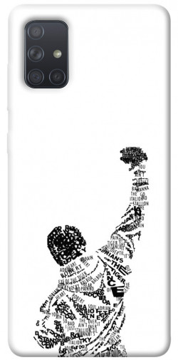 Чехол itsPrint Rocky man для Samsung Galaxy A71