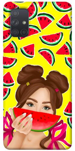 Чехол itsPrint Watermelon girl для Samsung Galaxy A71