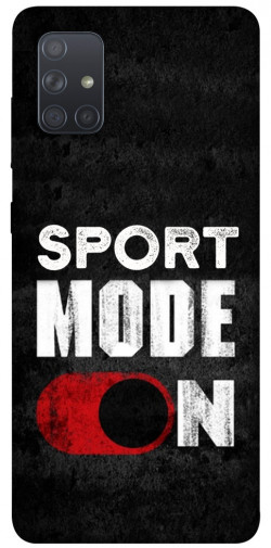 Чехол itsPrint Sport mode on для Samsung Galaxy A71