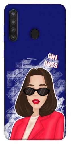 Чехол itsPrint Girl boss для Samsung Galaxy A21