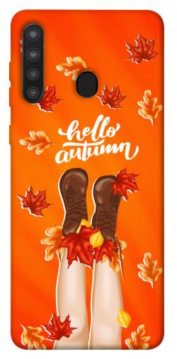 Чехол itsPrint Hello autumn для Samsung Galaxy A21