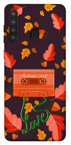 Чехол itsPrint Autumn sound для Samsung Galaxy A21