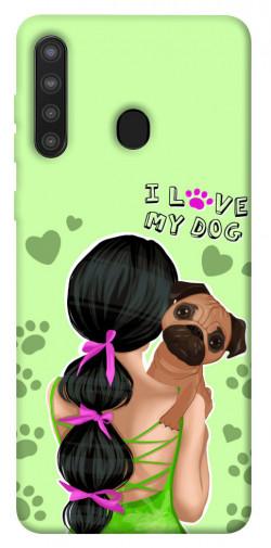 Чехол itsPrint Love my dog для Samsung Galaxy A21