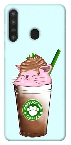 Чехол itsPrint Catpuccino для Samsung Galaxy A21