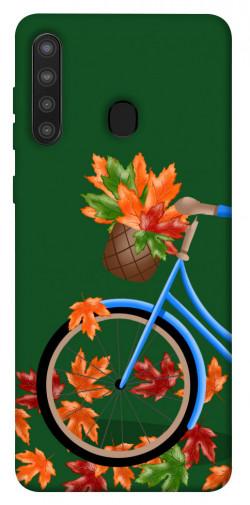 Чехол itsPrint Осенняя прогулка для Samsung Galaxy A21