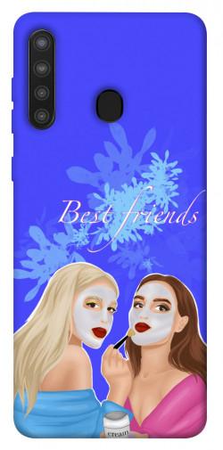 Чехол itsPrint Best friends для Samsung Galaxy A21