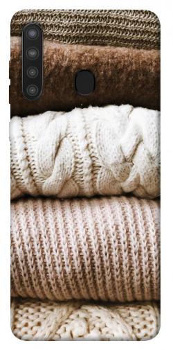 Чехол itsPrint Knitted aesthetics для Samsung Galaxy A21