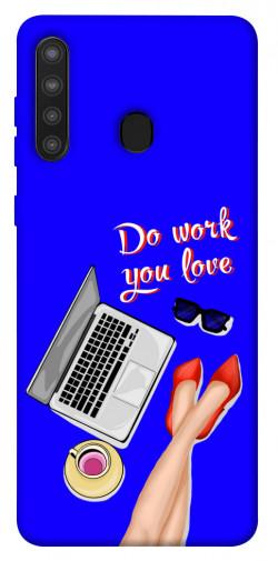 Чехол itsPrint Do work you love для Samsung Galaxy A21