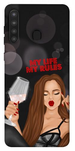 Чехол itsPrint My life my rules для Samsung Galaxy A21