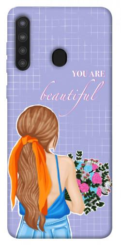 Чехол itsPrint You are beautiful для Samsung Galaxy A21