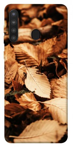 Чехол itsPrint Опавшая листва для Samsung Galaxy A21
