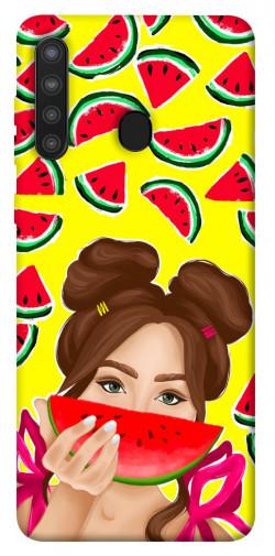 Чехол itsPrint Watermelon girl для Samsung Galaxy A21