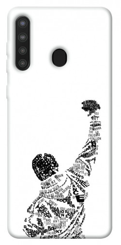 Чехол itsPrint Rocky man для Samsung Galaxy A21