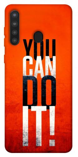 Чехол itsPrint You can do it для Samsung Galaxy A21
