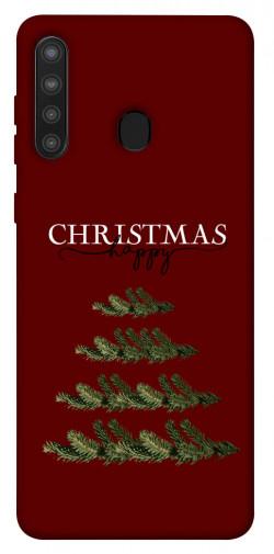 Чехол iPrint Счастливого Рождества для Samsung Galaxy A21