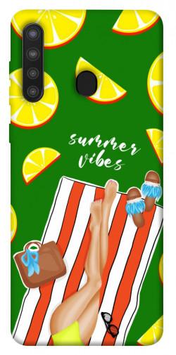 Чехол itsPrint Summer girl для Samsung Galaxy A21