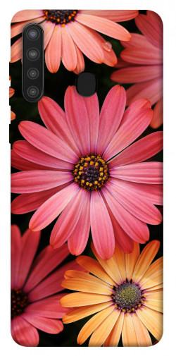 Чехол itsPrint Осенние цветы для Samsung Galaxy A21