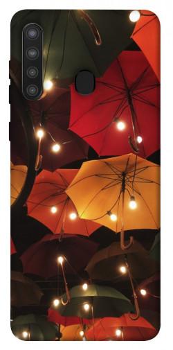 Чехол itsPrint Ламповая атмосфера для Samsung Galaxy A21