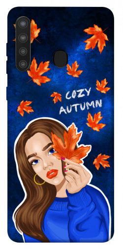Чехол itsPrint Cozy autumn для Samsung Galaxy A21