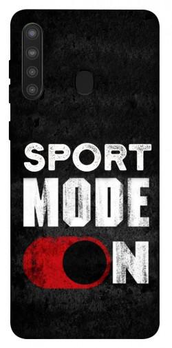 Чехол itsPrint Sport mode on для Samsung Galaxy A21
